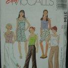 McCalls 3194 Girl's' Top, Pants and Skirt