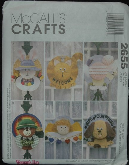 MCCALLS 2655 - STRAW HAT WREATHS