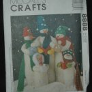 MCCALL'S 8888 CRAFT SEWING PATTERN FOR SNOW  CAROLERS
