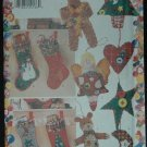 Butterick 4662 CRAFT SEWING PATTERN FOR CHRISTMAS DECORATIONS