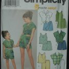 SIMPLICITY 9283 Child's and Girls' Tops, Pants and Shorts