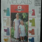 McCalls 3108 Children's and Girls'  Dress in Two Lengths and Unlined Jacket