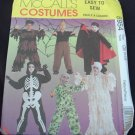 MCCALLS  8954 CHILDRENS' & BOYS SCARY COSTUMES