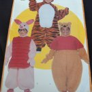 BUTTERICK 5172 TODDLERS 'S & CHILDRENS' COSTUME - POOH, TIGGER & PIGLET
