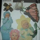 SIMPLICITY 7868 TODDLERS COSTUME- FLOWER, BEE & BUTTERFLY