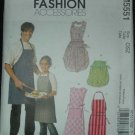 MCCALLS M5551 MISSES', MEN'S CHILDREN'S, BOYS' & GIRLS' APRONS