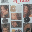 SIMPLICITY 8524 CRAFT PATTERN - HAIR ACCESSORIES