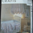 MCCALLS 8373 CRAFT PATTERN - BABYS'  ROOM ACCESSORIES