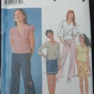 Simplicity 7193 Girl's, Girls' Plus Tops Pattern