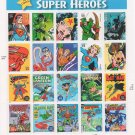 "U.S. POSTAGE STAMPS ""SUPER HEROES"""