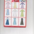 BUTTERICK 6490 GIRLS' JACKET & DRESS
