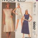 MCCALLS 9097 MISSES' DRESS  SIZE 8
