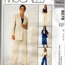 MCCALLS 9276 MISSES' UNLINED JACKET, TOP, PANTS & SKIRT