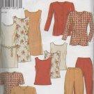 NEW LOOK  (Simplicity) 6577 MISSES DRESSES, TOPS, JACKET & PANTS
