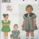SIMPLICITY 7836 SEWING PATTERN FOR BABIES' DRESS AND PANTIES SZ NB 1-18MOS