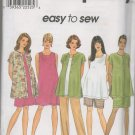 SIMPLICITY 8529 MATERNITY DRESS OR TOP SHIRT-JACKET, SKIRT AND PANTS OR SHORTS