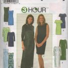 SIMPLICITY 7901 SEWING PATTERN FOR MISSES/MISS PETITE DRESS SIZE 6,8,12