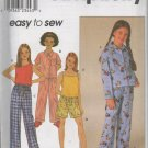 SIMPLICITY 8929 GIRLS'/GIRLS PLUS PAJAMAS