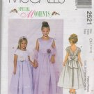 MCCALLS 2521 CHILDRENS' AND GIRLS' DRESSES AND STOLE