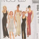 MCCALLS 8684 MISSES' LINED DRESS IN THREE SIZES