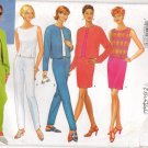 BUTTERICK 4510 MISSES' MISSES' PETITE  JACKET, TOP, SKIRT, & PANTS