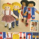 "SIMPLICITY 2729 Craft 24"" LEARN TO DRESS DOLLS  AND CLOTHES"