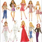 "Simplicity 4702 11 1/2""  Doll Dress Patterns"