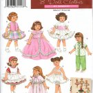 "Simplicity 3574  8""  Doll Dress Patterns"