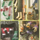 SIMPLICITY 3642  BOOT & ARMS SEASONAL DECORATIONS