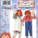 SIMPLICITY 2510 TODDLERS' & CHILDS' COSTUME-RAGGEDY ANN & ANDY
