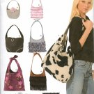 SIMPLICITY 4117 SEWING PATTERN FOR FASHION ACCESSORIES - HAND BAGS