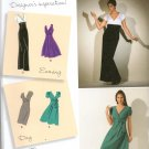 SIMPLICITY 2549  MISSES' DRESS IN TWO LENGTHS WITH SKIRT VARIATIONS, SIZE 6-14