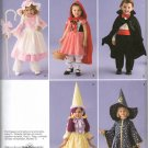 SIMPLICITY 2571 BABIES COSTUME  - BO PEEP, RED RIDING HOOD, VAMPIRE, GOOD WITHCH & WITCH