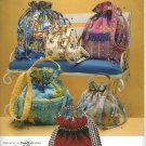 SIMPLICITY 3531 FASHION ACCESSORIES -BAGS IN THREE SIZES