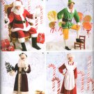 SIMPLICITY 2542 PATTERN FOR  ADLT CHRISTMAS COSTUMES FOR MR & MRS  SANTA CLAUS, SZ 30/32 - 38/40