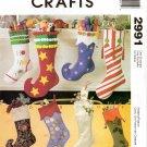 MCCALLS 2991 CRAFT CHRISTMAS STOCKINGS
