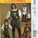 MCCALLS M5500 COSTUME PATTERN - KIDS (SIZE 3-8) KNIGHT, PRINCE AND  SAMURAI