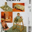 MCCALLS M5604 CRAFT PATTERN - BABY ITEMS