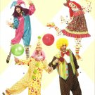 SIMPLICITY 2849 ADULT COSTUMES-CLOWN SIZE XS-XLG