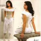 SIMPLICITY 2890 MISSES COSTUMES-DRAWERS, CHEMISE & CORSET 8-14