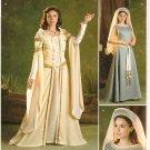 SIMPLICITY 2573 MISSES COSTUMES- Renaissance Costume Festival SZ 8-16