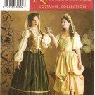 SIMPLICITY 3809 MISSES COSTUMES- Renaissance Costumel SZ 10-14