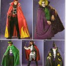 SIMPLICITY 2499 MENS' COSTUME - DEVIL, JOKER, PIRATE, WIZARD SZ 30-32 / 40-42/