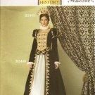 BUTTERICK B5440 MISSES COSTUMES- Renaissance Costume Festival SZ 6-12
