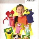 Butterick B4209 Craft  Pattern Hand Puppets