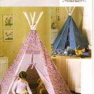 Butterick B4251 Craft  Pattern Tepee & Mat