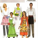 BUTTERICK  B5426 CRAFT PATTERN - MISSES' /MENS APRONS