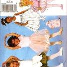 BUTTERICK B5545 CHILDREN'S AND GIRLS' LEOTARDS, SKIRT, BAG AND PONYTAIL HOLDER