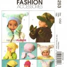 McCalls M5253 INFANTS' AND TODDLERS' HATS AND MITTENS