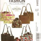 McCalls M5944 Craft BAG AND TOTE AND LINER IN TWO SIZES-